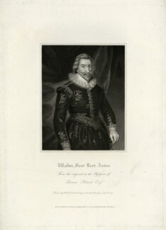 Walter Aston, 2nd Baron Aston, by R. Cooper, after  Unknown artist - NPG D7418