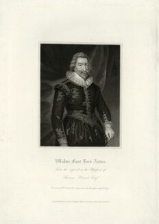 Walter Aston, 2nd Baron Aston, by R. Cooper, after  Unknown artist - NPG D7420