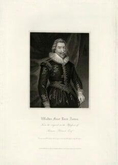 Walter Aston, 2nd Baron Aston, by R. Cooper, after  Unknown artist - NPG D7420