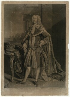 James Murray, 2nd Duke of Atholl, by John Faber Jr, after  Jeremiah Davison - NPG D7426