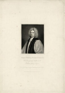 Francis Atterbury, by Henry Thomas Ryall, after  Sir Godfrey Kneller, Bt - NPG D7434