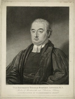 Thomas Stephen Atwood, by and published by Charles Knight, after  Martin Cregan - NPG D7435