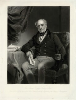 Sir Thomas Digby Aubrey, 7th Bt, by John Richardson Jackson, after  Frederick Richard Say - NPG D7439