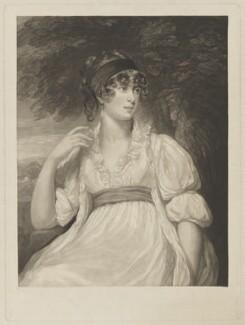 Juliana (née Vinicombe), Lady St Aubyn, by William James Ward, after  John Opie - NPG D7440