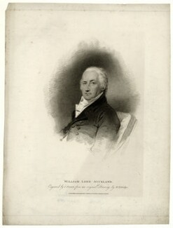 William Eden, 1st Baron Auckland, by Charles Picart, after  Henry Edridge, published 1810 - NPG D7444 - © National Portrait Gallery, London