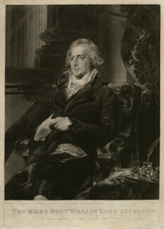 William Eden, 1st Baron Auckland, by William Dickinson, after  Sir Thomas Lawrence - NPG D7446