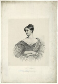 Sarah Austin (née Taylor), by (Isaac) Weld Taylor, after  Henry Perronet Briggs - NPG D7451