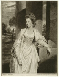 Louisa (née Thynne), Countess of Aylesford, by Valentine Green, after  Sir Joshua Reynolds, published 1783 - NPG D7453 - © National Portrait Gallery, London