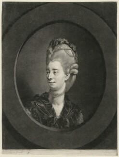 Sophia Baddeley (née Snow), by Robert Laurie, after  Johan Joseph Zoffany - NPG D7460
