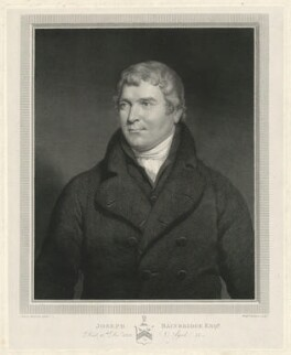 Joseph Bainbridge, by William Skelton, after  James Ramsay - NPG D7469