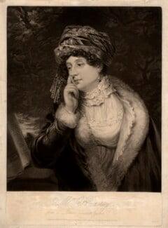 Jane Braddyll (née Gale), by William Ward, after  Thomas Richard Gale Braddyll - NPG D747