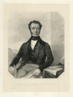 Edward Baines, by J. Stevenson, after  S.A. Duval - NPG D7471