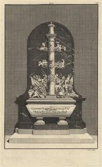 Tomb of John Baker, by James Cole - NPG D7476