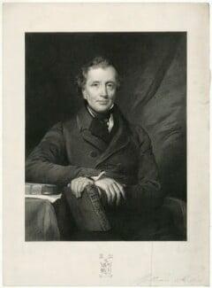 William Baker, by Ferdinand Jean de la Ferté Joubert, after  Henry Perronet Briggs - NPG D7478