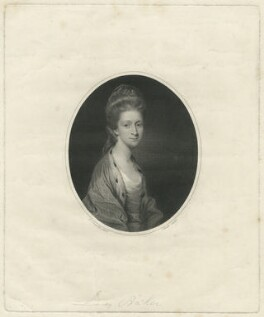 Jane (née Morris), Lady Baker, by James Heath, after  Sir Joshua Reynolds - NPG D7479