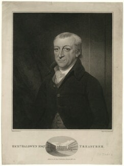 Richard Baldwyn, by Nathan Cooper Branwhite, after  Mather Brown - NPG D7481