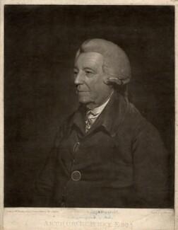 Arthur Blayney, by Thomas Hardy, after  Sir William Beechey - NPG D749