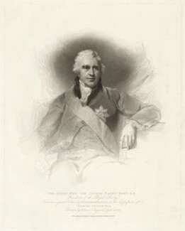 Sir Joseph Banks, Bt, by Anthony Cardon, published by  T. Cadell & W. Davies, after  William Evans, after  Sir Thomas Lawrence - NPG D7501