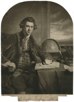 Sir Joseph Banks, Bt, by William Dickinson, after  Sir Joshua Reynolds - NPG D7505