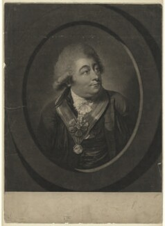 Charles Bannister, by Robert Laurie, after  Robert Dighton - NPG D7507