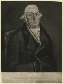 Charles Bannister, by William Dickinson, after  W.C. Lindsay - NPG D7508