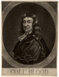 Thomas Blood, by George White, after  Unknown artist - NPG D751