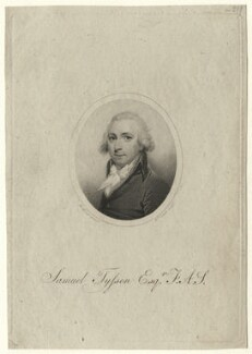 Samuel Tyssen, by William Evans, after  H. Burch - NPG D7521