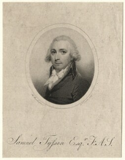 Samuel Tyssen, by William Evans, after  H. Burch - NPG D7522