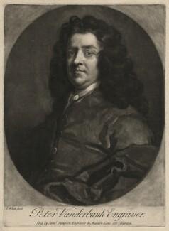 Peter Vanderbank, by George White, after  Sir Godfrey Kneller, Bt - NPG D7526