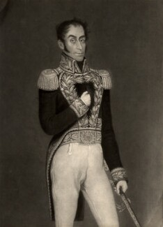 Simon Bolivar, by Charles Turner, after  Gil - NPG D753