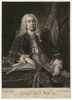 Gerard van Neck, by James Macardell, after  Jean Baptiste van Loo - NPG D7530