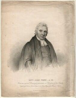 John Venn, by Edward Scriven, after  Joseph Slater - NPG D7531