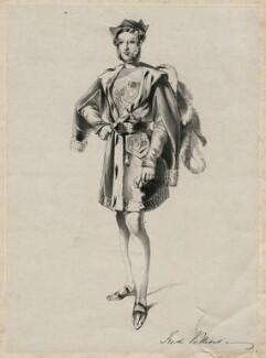 Hon. Frederick William Child-Villiers as Guy de la Motte, after Unknown artist - NPG D7535