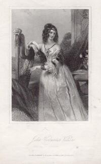 Julia Child-Villiers (née Peel), Countess of Jersey when Viscountess Villiers, by John Penstone - NPG D7536