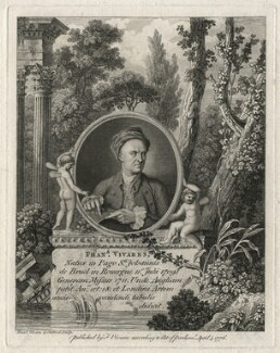 François Vivares, by and published by François Vivares, and by  James Caldwall - NPG D7539