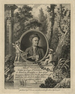 François Vivares, by and published by François Vivares, and by  James Caldwall - NPG D7540