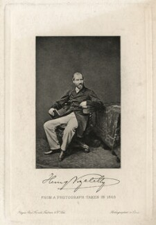 Henry Vizetelly, after a photograph by Unknown photographer - NPG D7542