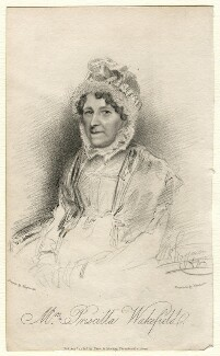 Priscilla Wakefield, by James Thomson (Thompson), published by  Dean & Munday, after  Thomas Charles Wageman - NPG D7548