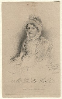Priscilla Wakefield, by James Thomson (Thompson), published by  Dean & Munday, after  Thomas Charles Wageman - NPG D7549