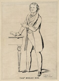 Thomas Wakley, by George Edward Madeley - NPG D7550
