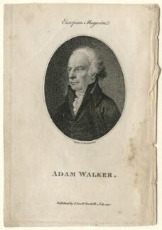 Adam Walker, after Samuel Drummond, published 1792 - NPG D7552 - © National Portrait Gallery, London