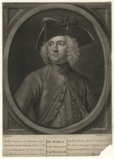 Thomas Walker, by John Faber Jr, after  John Ellys - NPG D7554