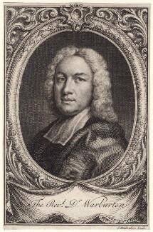 William Warburton, by Jacobus Houbraken, after  Unknown artist - NPG D7568
