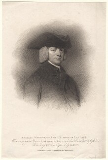 Richard Watson, by Henry Meyer, after  George Romney - NPG D7580