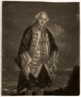 Edward Boscawen, by James Macardell, after  Sir Joshua Reynolds - NPG D760