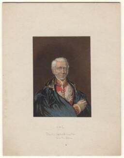 Arthur Wellesley, 1st Duke of Wellington, by George Baxter - NPG D7601