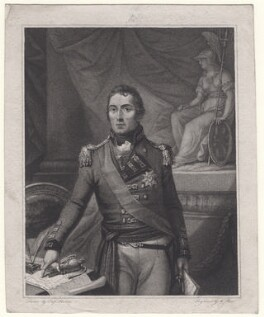 Arthur Wellesley, 1st Duke of Wellington, by M. Place, after  Captain Raria - NPG D7603