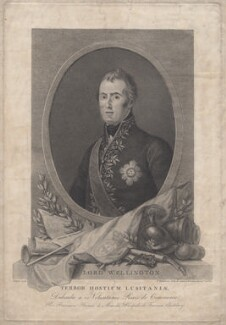Arthur Wellesley, 1st Duke of Wellington, by Francesco Bartolozzi, after  Domenico Pellegrini - NPG D7605