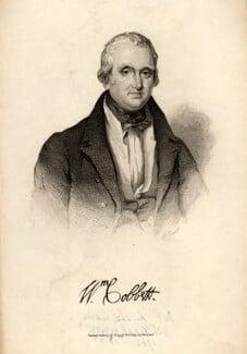 William Cobbett, by F. Croall, after  Unknown artist - NPG D7609