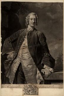 Edward Boscawen, by John Faber Jr, after  Allan Ramsay - NPG D761